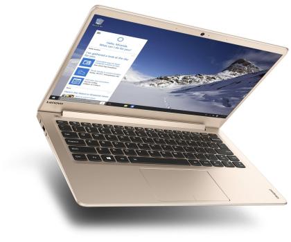 Lenovo Ideapad 710s-13 i7-7500U/8GB/256/Win10 Złoty -352011 - Zdjęcie 2