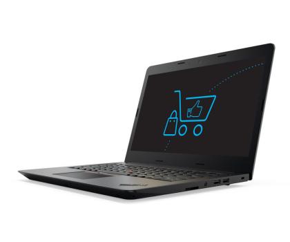 Lenovo ThinkPad E470 i5-7200U/8GB/256 GF940MX FHD -353386 - Zdjęcie 1