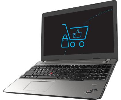 Lenovo ThinkPad E570 i5-7200U/8GB/256 FHD-352789 - Zdjęcie 1
