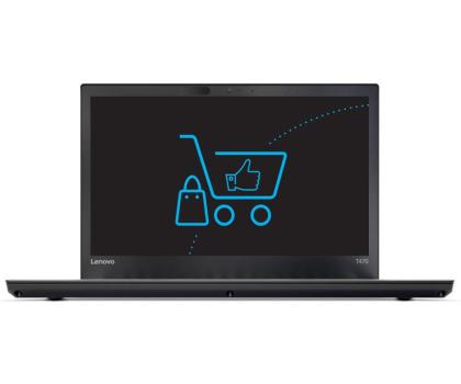 Lenovo ThinkPad T470 i5-7200U/32GB/256SSD FHD -357778 - Zdjęcie 2