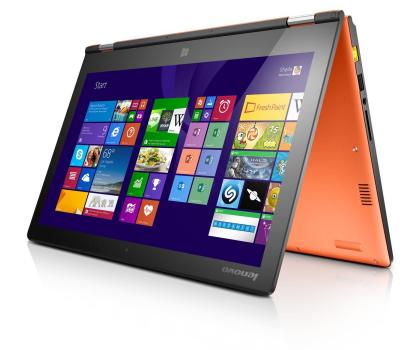 Lenovo Yoga 2 13 i5-4210U/4GB/500/Win8 FHD pomarańczowy-202424 - Zdjęcie 3