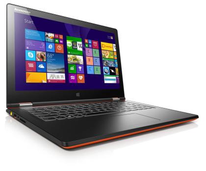 Lenovo Yoga 2 13 i5-4210U/4GB/500/Win8 FHD pomarańczowy-202424 - Zdjęcie 5