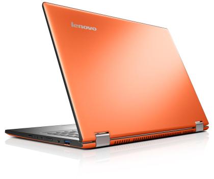 Lenovo Yoga 2 13 i5-4210U/4GB/500/Win8 FHD pomarańczowy-202424 - Zdjęcie 2
