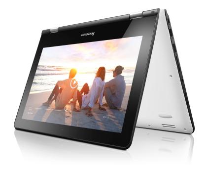 Lenovo YOGA 300-11 N3060/2GB/32/Win10 Biały + Office -395856 - Zdjęcie 4
