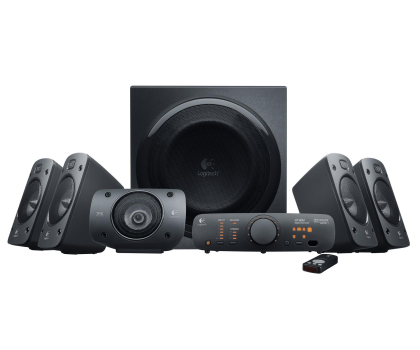 Logitech 5.1 Z906 Surround Sound Speakers-65406 - Zdjęcie 1
