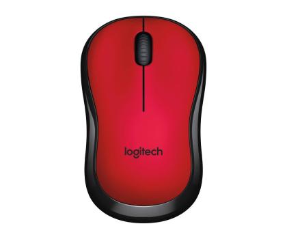 Logitech M220 Silent (czerwona) -329386 - Zdjęcie 4