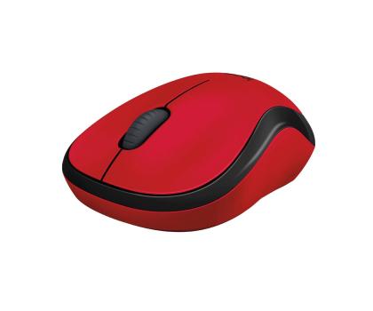 Logitech M220 Silent (czerwona) -329386 - Zdjęcie 3