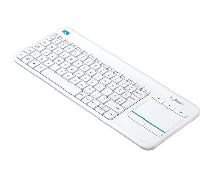 Logitech Wireless Touch K400 Plus biała-276511 - Zdjęcie 2