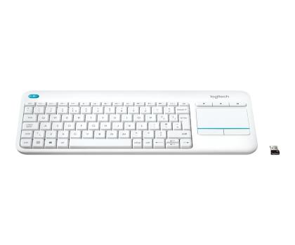 Logitech Wireless Touch K400 Plus biała-276511 - Zdjęcie 3