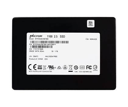 "Micron 256GB 2,5"" SSD M1100 3D NAND OEM-382690 - Zdjęcie 2"