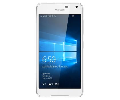 Microsoft Lumia 650 Dual SIM LTE 16 GB biały-290729 - Zdjęcie 2