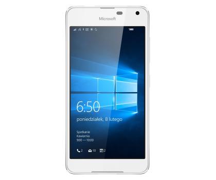 Microsoft Lumia 650 LTE 16 GB biały-290734 - Zdjęcie 2