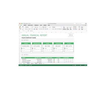 Microsoft Office 2016 dla Użytk. Domowych i Małych Firm ESD-404477 - Zdjęcie 3