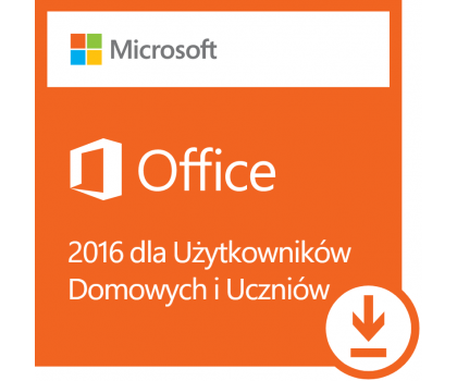 Microsoft Office 2016 dla Użytk. Domowych i Uczniów ESD-404475 - Zdjęcie 1