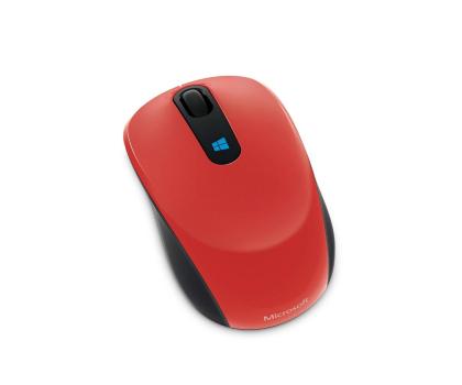 Microsoft Sculpt Mobile Mouse (czerwona)-164964 - Zdjęcie 3