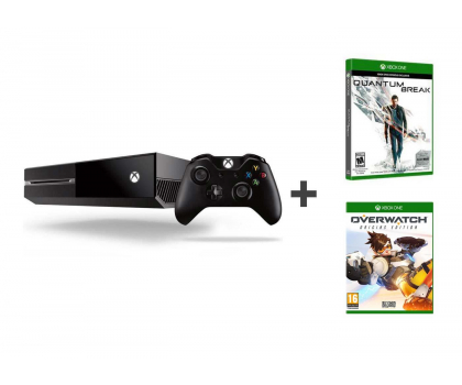 Microsoft Xbox One 500GB+Quantum Break+Alan Wake+Overwatch (5C7-000231)