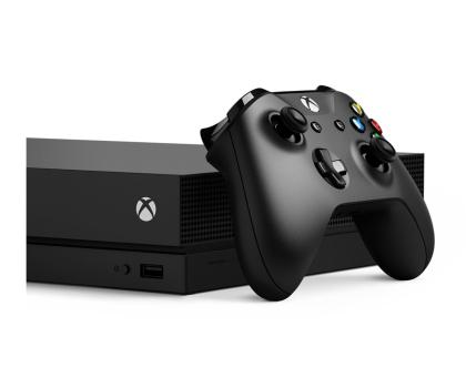 Microsoft Xbox One X 1TB  + 2GRY + Live GOLD 6MSC-405314 - Zdjęcie 6