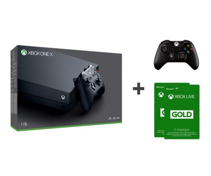 Microsoft Xbox One X 1TB + 2xPAD +2GRY + Live 6MSC-405314 - Zdjęcie 1