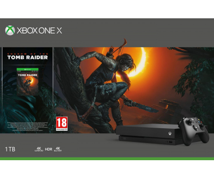 Microsoft Xbox One X 1TB  Shadow of the Tomb Raider-447457 - Zdjęcie 5