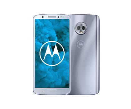 Motorola Moto G6 Plus 4/64GB Dual SIM srebrzysty błękit-410743 - Zdjęcie 1