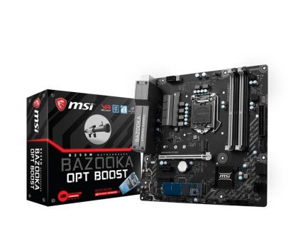 MSI B250M BAZOOKA OPT + i5-7400 + Crucial 8GB 2400MHz-390818 - Zdjęcie 2