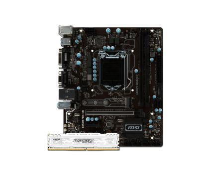 MSI B250M PRO-VD + Crucial 8GB 2400MHz-379923 - Zdjęcie 1