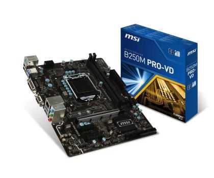 MSI B250M PRO-VD + i5-7400 + Crucial 16GB 2400MHz -391556 - Zdjęcie 2