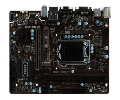 MSI B250M PRO-VD + i5-7400 + Crucial 8GB 2400MHz-391553 - Zdjęcie 5