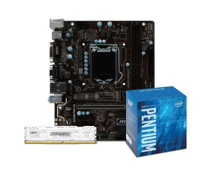 MSI B250M PRO-VD + Intel G4600 + Crucial 8GB 2400MHz -391558 - Zdjęcie 1