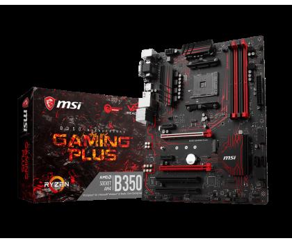 MSI B350 GAMING PLUS (2xPCI-E DDR4 USB 3.1/M.2)-365744 - Zdjęcie 1