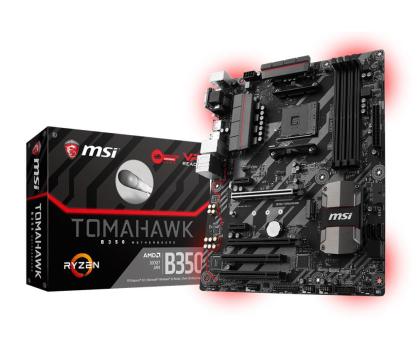 MSI B350 TOMAHAWK (2xPCI-E DDR4 USB3.1/M.2)-353455 - Zdjęcie 1