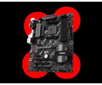 MSI B350 TOMAHAWK (2xPCI-E DDR4 USB3.1/M.2)-353455 - Zdjęcie 3