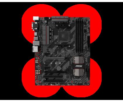 MSI B350 TOMAHAWK (2xPCI-E DDR4 USB3.1/M.2)-353455 - Zdjęcie 4
