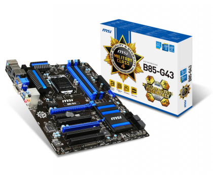 MSI B85-G43 (B85 2xPCI-E DDR3)-150919 - Zdjęcie 1