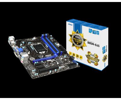 MSI B85M-E45 (B85 PCI-E DDR3)-155542 - Zdjęcie 1