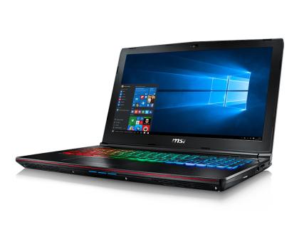 MSI GE62 i7-7700HQ/32GB/1TB+256SSD/Win10X GTX1050 IPS-348251 - Zdjęcie 6
