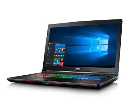 MSI GE72 i7-7700HQ/16GB/1TB/Win10X GTX1050Ti 120Hz-348288 - Zdjęcie 3