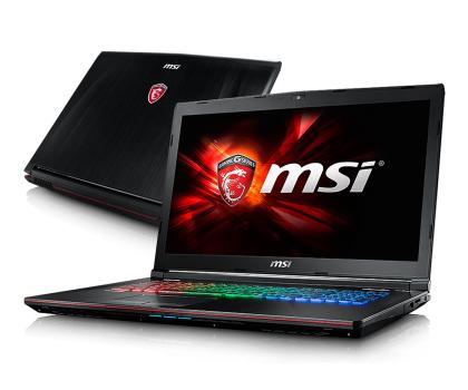 MSI GE72 i7-7700HQ/8GB/1TB GTX1050 120Hz-342758 - Zdjęcie 1