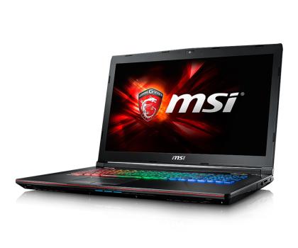 MSI GE72 i7-7700HQ/8GB/1TB GTX1050 120Hz-342758 - Zdjęcie 3
