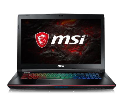 MSI GE72VR i7-7700HQ/8GB/1TB+128/Win10 GTX1060 120Hz-378071 - Zdjęcie 2