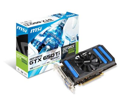 MSI GeForce GTX650Ti 1024MB 192bit OC BOOST-137915 - Zdjęcie 1