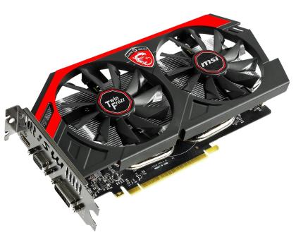 MSI GeForce GTX750Ti 2048MB 128bit Twin Frozr OC-174903 - Zdjęcie 2