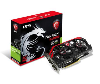 MSI GeForce GTX750Ti 2048MB 128bit Twin Frozr OC-174903 - Zdjęcie 1
