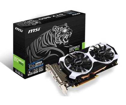 MSI GeForce GTX960 4096MB 128bit OC (Armor 2X) -247552 - Zdjęcie 1