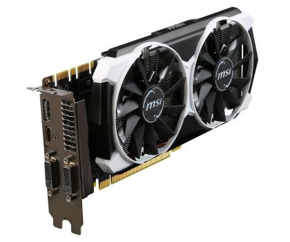 MSI GeForce GTX970 4096MB 256bit OC (Armor 2X) -215950 - Zdjęcie 4