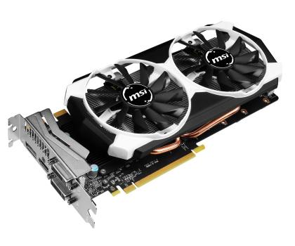 MSI GeForce GTX970 4096MB 256bit OC (Armor 2X) -215950 - Zdjęcie 2