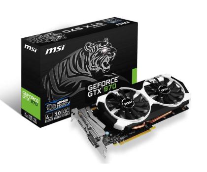 MSI GeForce GTX970 4096MB 256bit OC (Armor 2X) -215950 - Zdjęcie 1