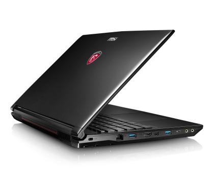MSI GL62 i5-6300HQ/4GB/1TB 940MX 2GB FHD-317476 - Zdjęcie 3
