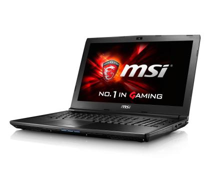 MSI  GL62 i5-6300HQ/8GB/1TB 940MX 2GB FHD-338831 - Zdjęcie 1