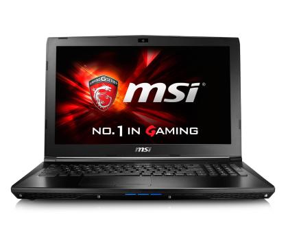 MSI  GL62 i5-6300HQ/8GB/1TB 940MX 2GB FHD-338831 - Zdjęcie 2